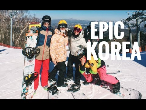 Epic Snowboarding in South Korea (Explore Asia)