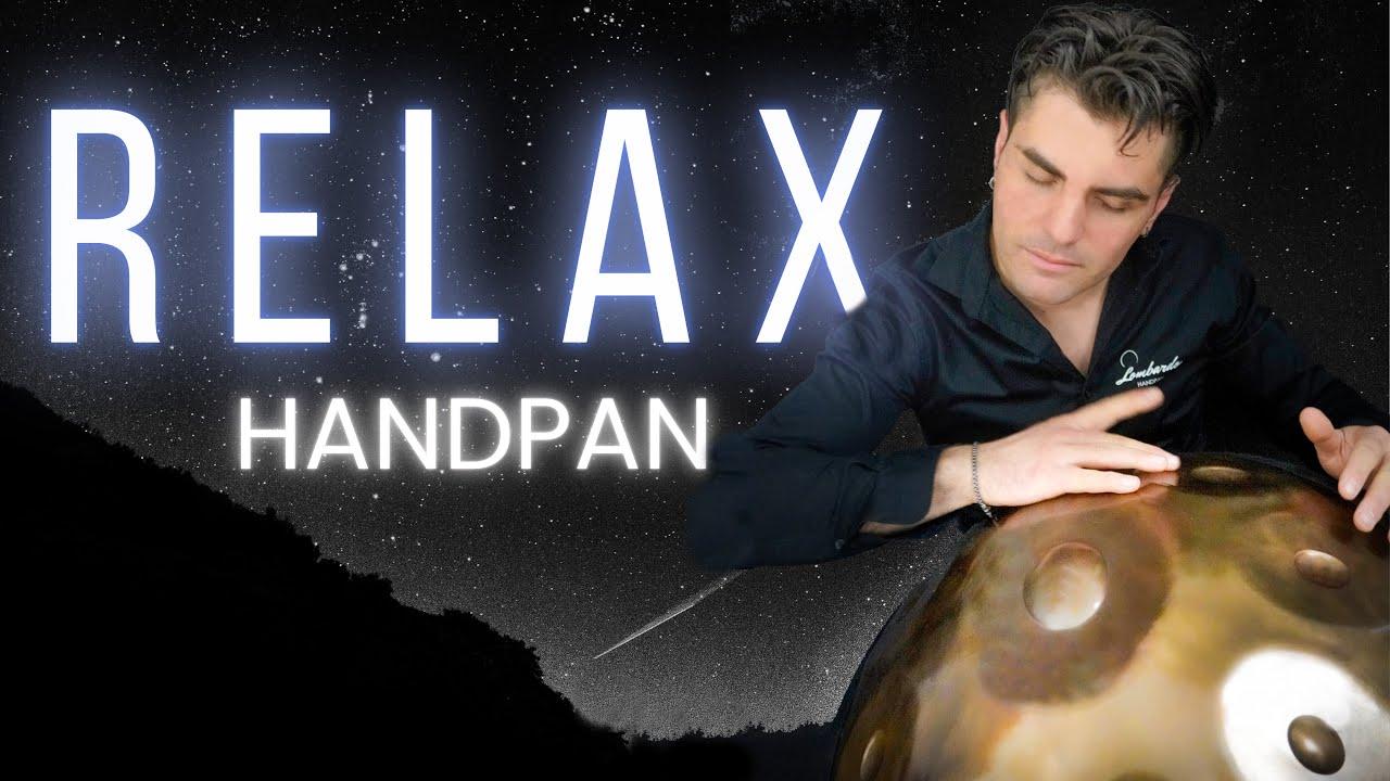 RELAX HANDPAN - Lombardo Handpan - Do# Stainless Pro (sub eng) Loris Lombardo