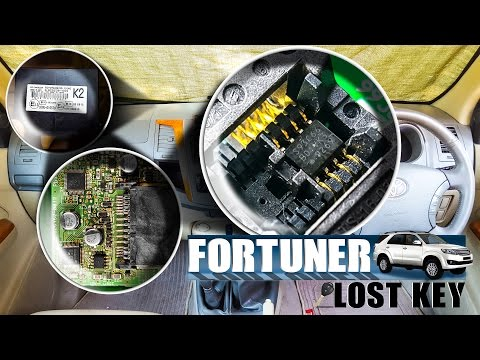 Toyota Fortuner Lost Key Making | Toyota G Chip key programmer | 93C66 EEPROM