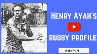 Henry Ayah Rugby Profile ★ 2018