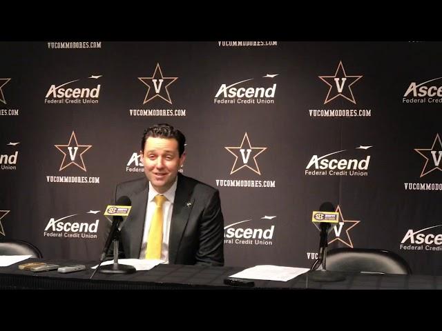 Vanderbilt Commodores Basketball Coach Bryce Drew Postgame Interview — 12/5/18