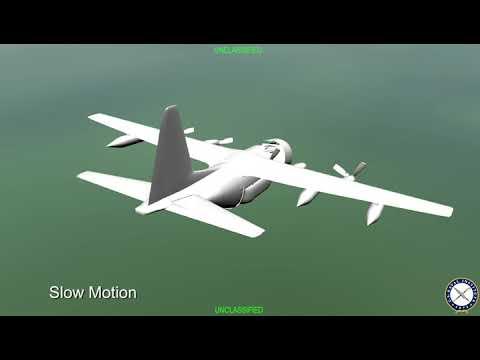 Animation of Fatal Marine Corps KC-130T Crash