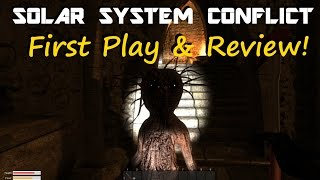 Solar System Conflict - First Play & Review!
