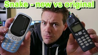 New Nokia snake vs old