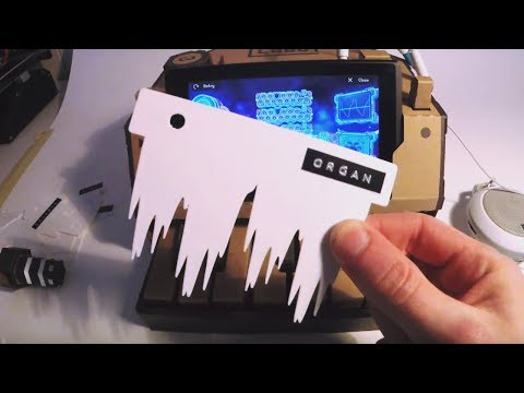 Testing 3D Printed Nintendo LABO Waveform Cards