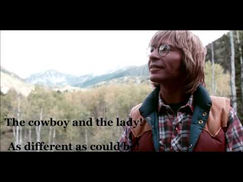 The Cowboy and the Lady  JOHN DENVER (with lyrics)