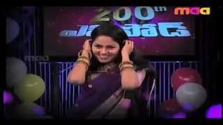 new serials artists suhasini,roja,anasuya,suma  performence at atime in maa tv MODERNMAHALAKSHMI