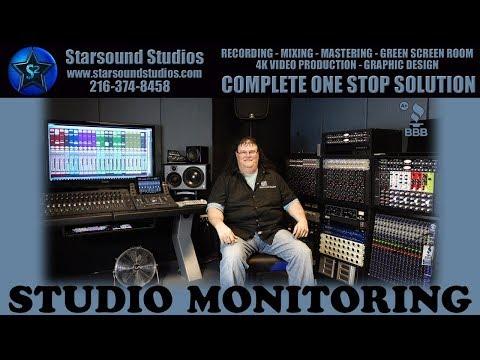 Studio Monitoring Videos Of The Best Recording Studio Cleveland Ohio Starsound Studios ✅