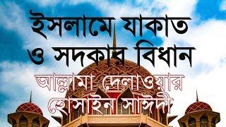 ইসলামে যাকাত ও সদকার বিধান | দেলাওয়ার হোসাইন সাঈদী  | Islam e Jakat o Sodkar Bidhan | Bangla waz
