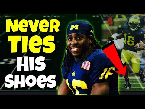 Meet the Star Quarterback Who NEVER TIED His Shoes