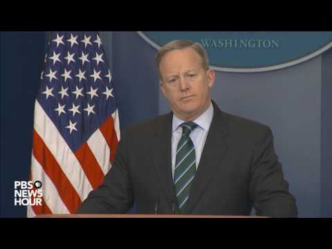 Sean Spicer addresses immigration in daily news briefing