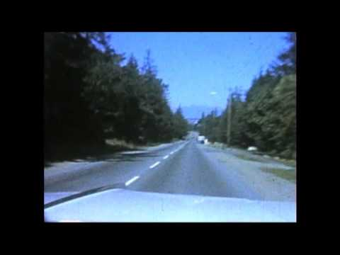 Tsawwassen 1st ave to cliff dr 1969 slowed timelapse