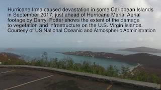 Hurricane Irma Aerial Footage 2017