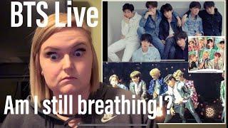 BTS Reaction- (Boyz with Fun✌🏼+Attack on Bangtan+Fire🔥+Baepsae+Dope) Live @ Love Yourself Tour🤯