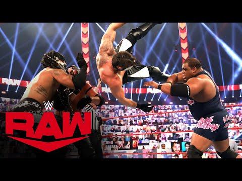 Keith Lee, Braun Strowman, Sheamus & Riddle vs. RETRIBUTION: Raw, Nov. 16, 2020