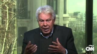 Felipe González sobre la escasez en Venezuela