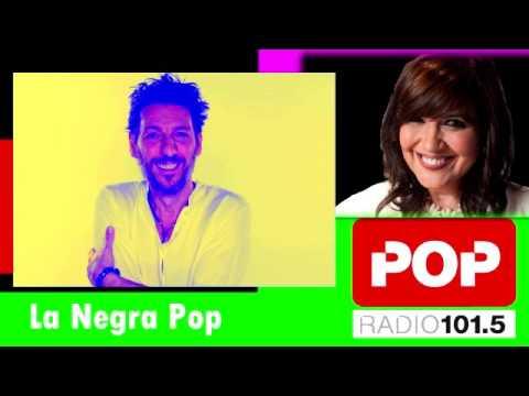 """Humberto Tortonese """"Dios en los estudios de Pop radio"""" La negra Pop"""
