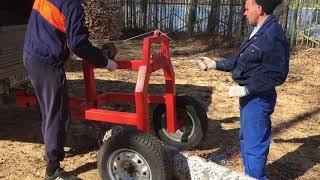 Комплекс для заготовки дров - Уралец (Захват трелёвочный, прицеп-бревновоз)