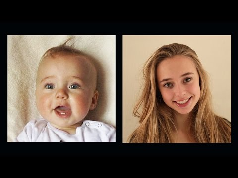 Portrait of Lotte, 0 to 16 years in 4 ½ minutes. from YouTube · Duration:  4 minutes 45 seconds