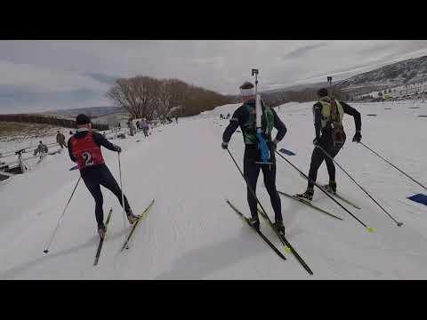 Patrol Race from the Alaska National Guard Biathlon Team
