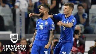 Italia 2-1 Bosnia - RESUMEN Y GOLES - Grupo H - Clasificatorio Eurocopa 2020