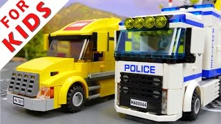 LEGO City 60044 Mobile Police Unit - Police Truck . Police car . Police helicopter