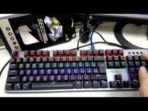 F2010 炫光電競鍵盤 Lutec AULA