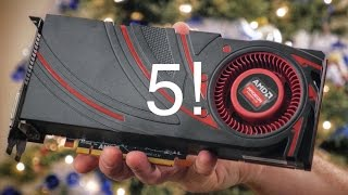 top 5 graphics cards of 2014