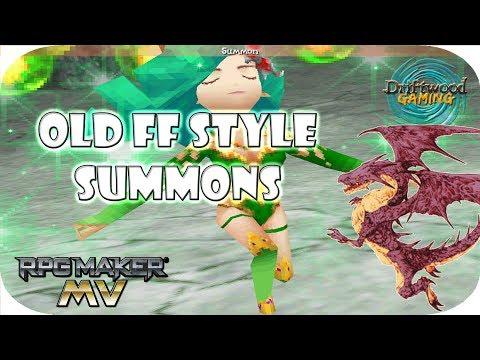 RPGMMV Tutorial - Final Fantasy IV, V, VI Summon Guide - RPG Maker