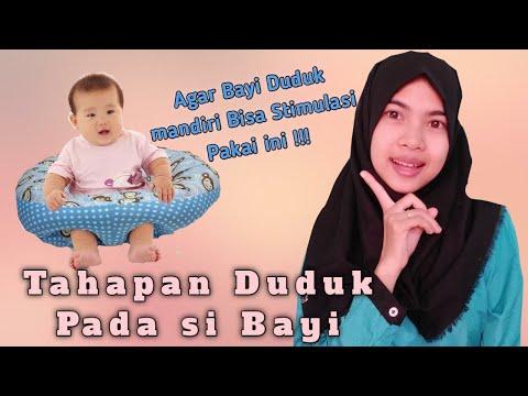 Bayi Belajar Duduk, Bisa Kok Dilatih!.