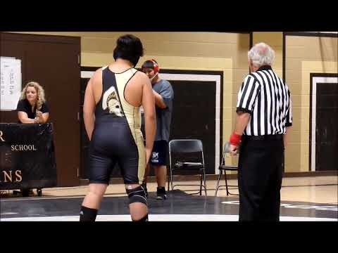 thomas's first wrestling BARSTOW JUNIOR HIGH SCHOOLV 9/19/18