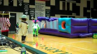 Mascot Games - Obstacle Course