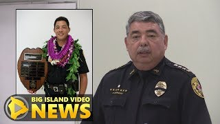 Hawaii Police Officer Killed In Line Of Duty (July 18, 2018)