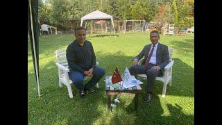 Baro Başkanı Abdurrahim Burak Gazeteci Raif Ugan'ın konuğu oldu