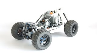 Fast LEGO TECHNIC Buggy ! in 4K !
