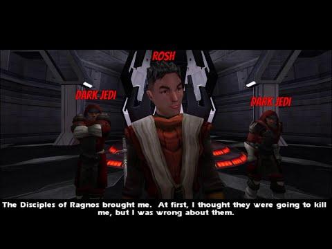 Star Wars Jedi Knight: Jedi Academy - Jaden VS. Rosh |