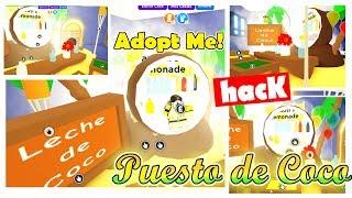 Puesto de Agua de CoCo en Adopt me! TROPICAL (roblox) hacks de muebles adopt me en español