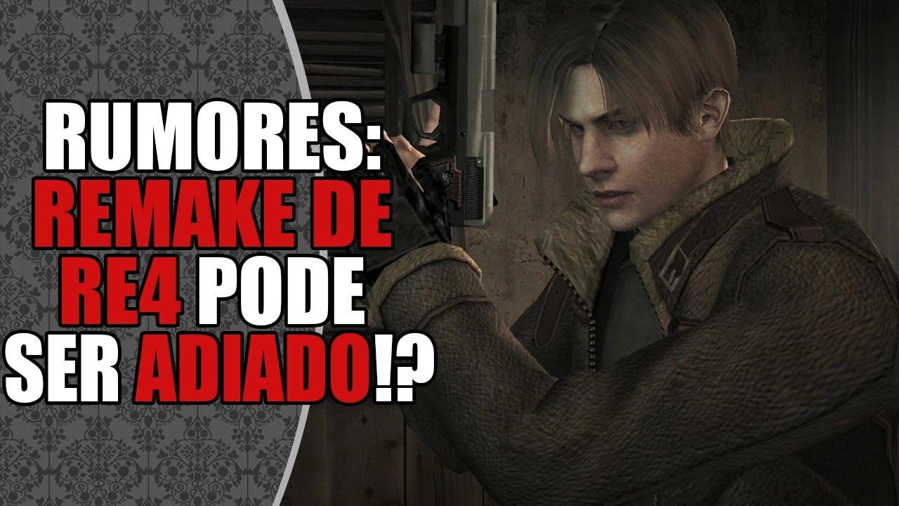 RUMOR: Reboot no Desenvolvimento de Resident Evil 4 REMAKE?! 😱 | DATABASE NEWS