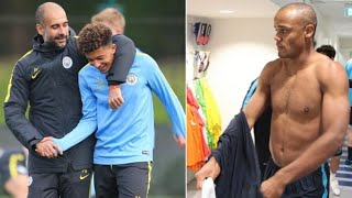 What Jadon Sancho Did To Vincent Kompany In Manchester City Training That Got Him A Warning