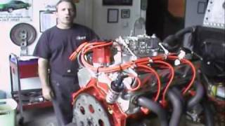 LIve Run Chevy 327 Roller Custom Crate Engines by Proformance Unlimited