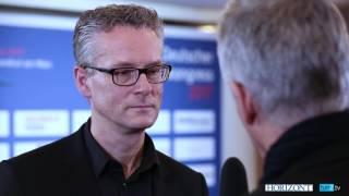 Jörg Hausendorf, Konzerngeschäftsleiter Bauer Media Group, beim Deutschen Medienkongress 2017