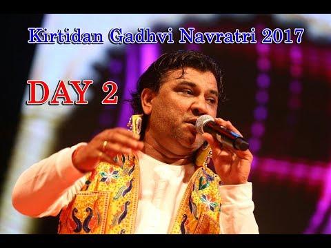 Kirtidan Gadhvi Navratri 2017 | PP Savani Group | DAY 02 | Garden city