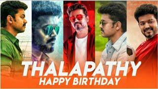 #hbd thalapathy birthday | Special Mashup | #vijay whatsapp status video