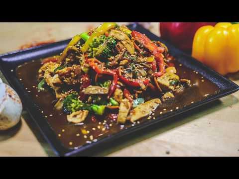 recette-wok-au-poulet---وصفة-الووك-بالدجاج-و-الخضر