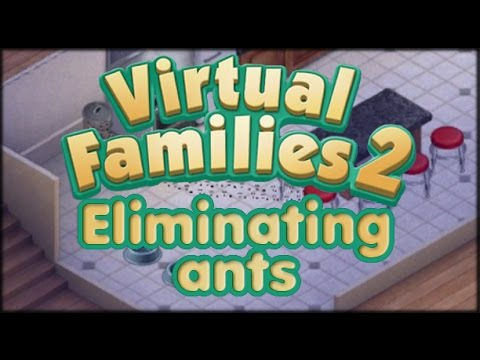 Virtual Families 2 How To Get Rid Of Ants Youtube