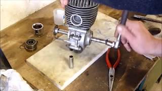 MOTEUR MOTOBECANE AV7  remontage haut moteur