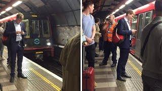 Underground Train Boxing Announcement