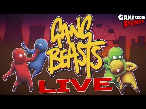 Gang Beasts LIVE with Jason, Emre, & Aaron! - GameSocietyPimps