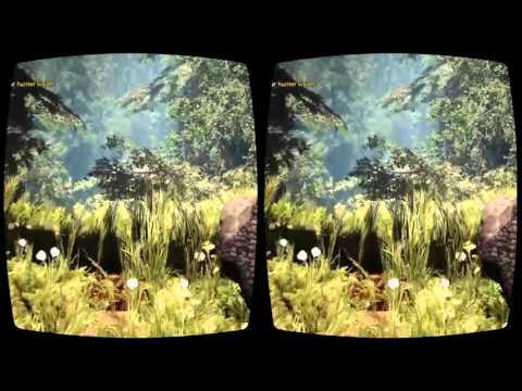 Far Cry Primal footprints vision in Oculus Rift 3D VR gameplay 2016