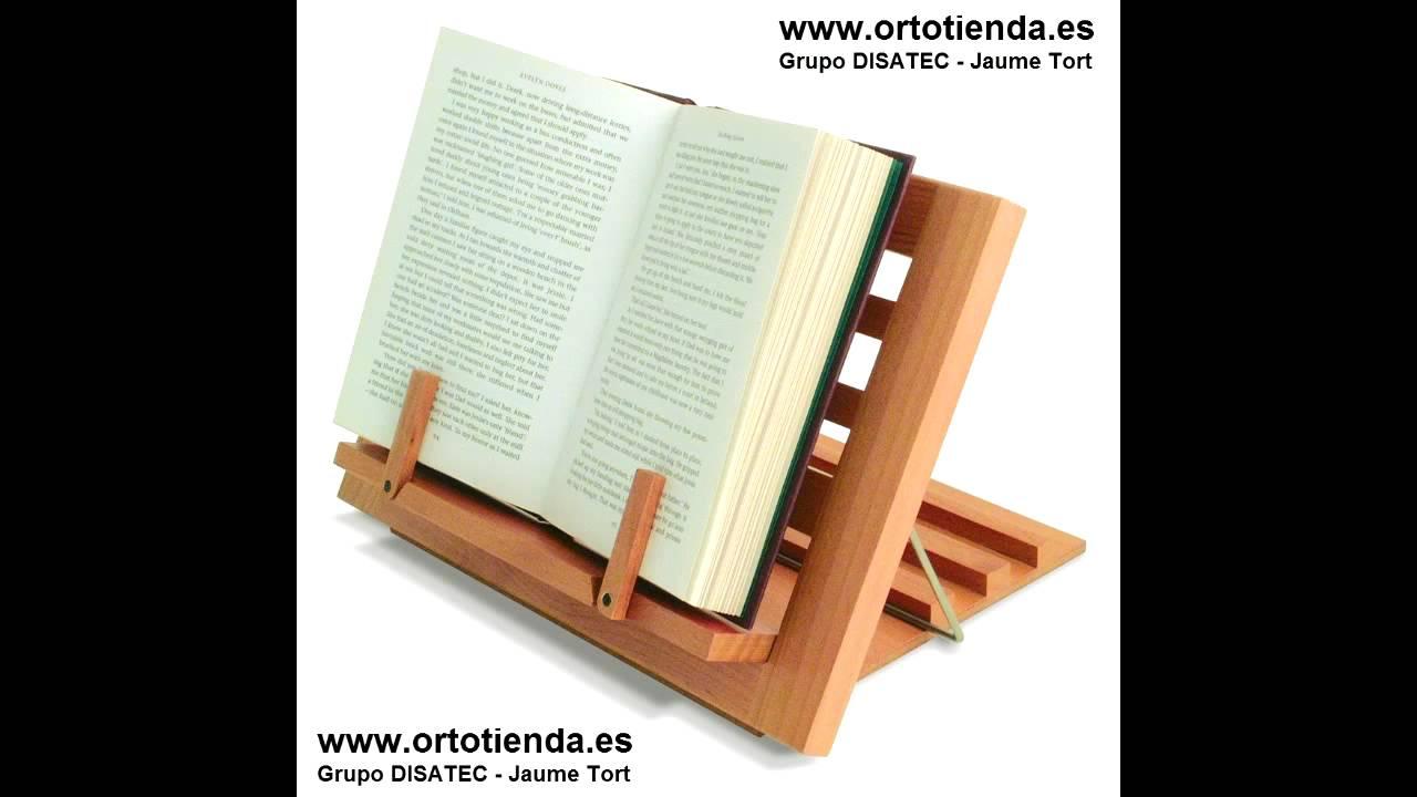 Atril de lectura comoda h7270 youtube - Lamparas para leer libros ...